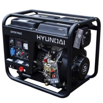 Генератор дизельный сварочный Hyundai DHYW 190AC